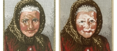 Old Woman, Before & After
